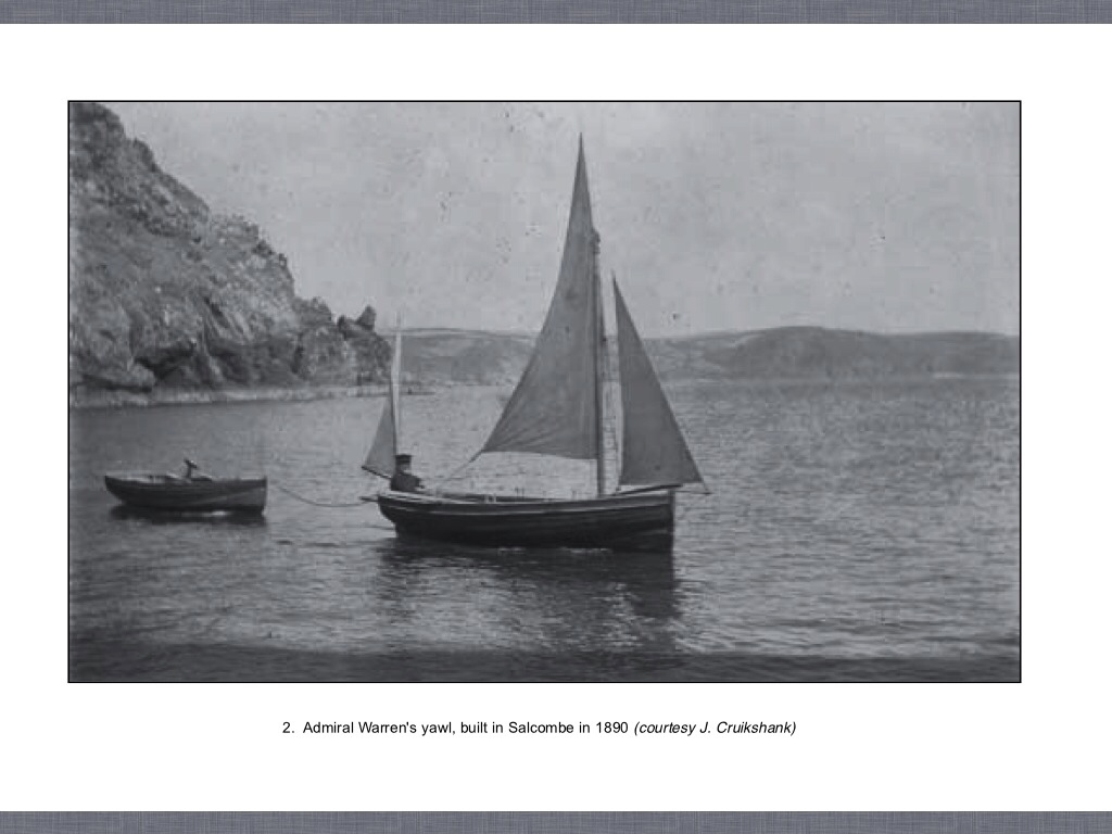 History - Salcombe Yawl Owners' Association